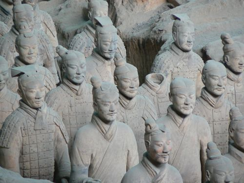 Xi'an-terra-cotta-warrios