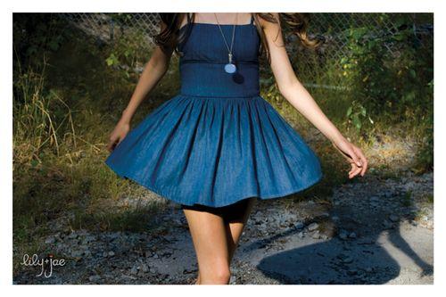 L+j SS09-bloomer dress