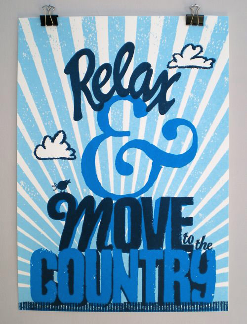 Relax.screenprint
