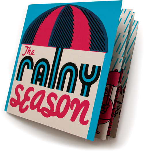 Rainyseason.silkscreenbook