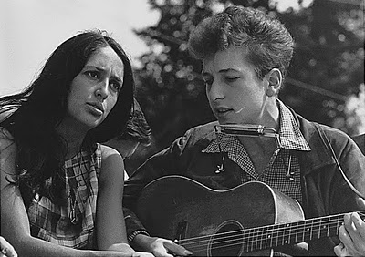 This Photo of Bob Dylan and Joan Baez