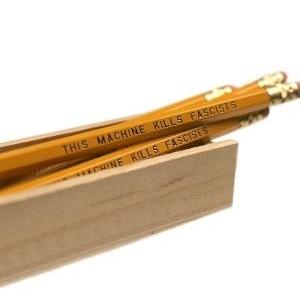 Anti-fascist pencils