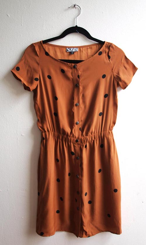 04 Dusen Dusen Dotted Dress
