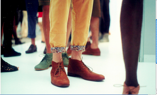 Shoes-cuffs