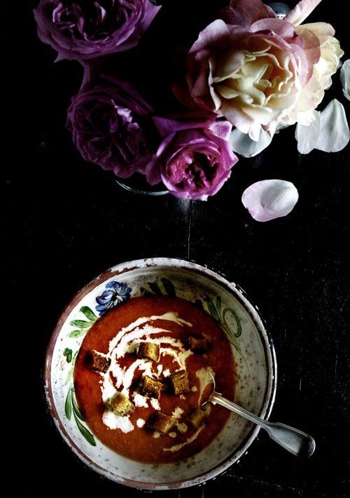 Gazpacho-soup