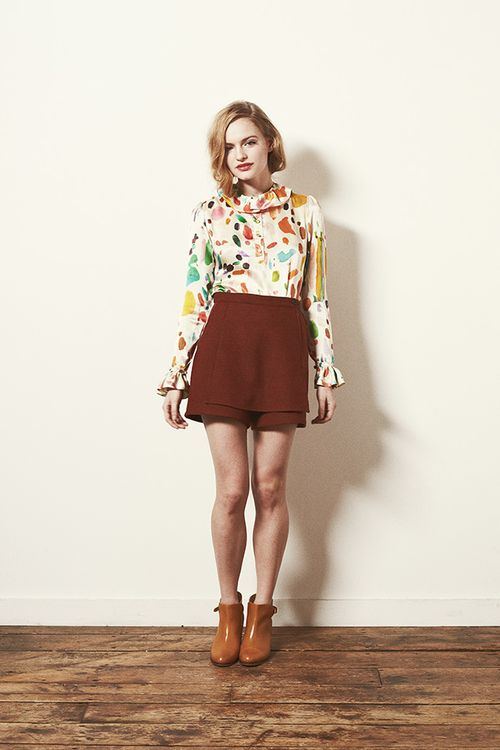 Look 3 - Mirth Blouse and Dusk Shorts