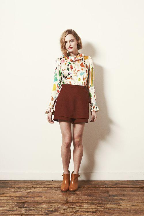 Look 3 - Mirth Blouse and Dusk Shorts