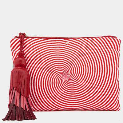 Courtney-eyetwister-swirl-red-clutch