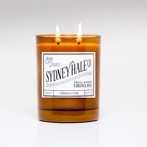 Sydney Hale Co. Soy Candle Cypress Cassis_large