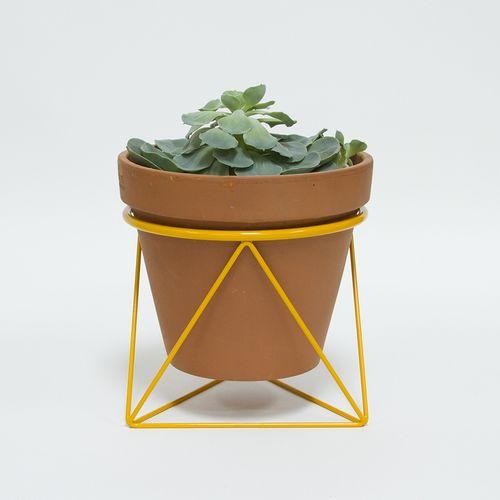 Octa ring planter_yellow