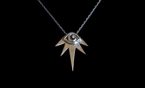 Good girl jewelry eye necklace