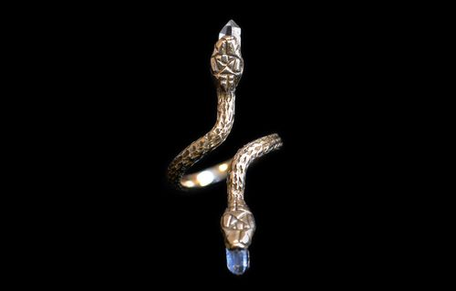 Good girl jewelry s snake ring 1
