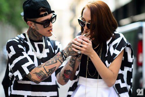 8116-Le-21eme-Adam-Katz-Sinding-Jimmy-Q-Leia-Contois-Milan-Mens-Fashion-Week-Spring-Summer-2015_AKS0057