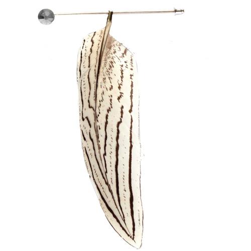 White_pheasant_hat_pin