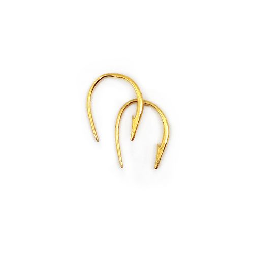 Small-hook-poke-earring-gold