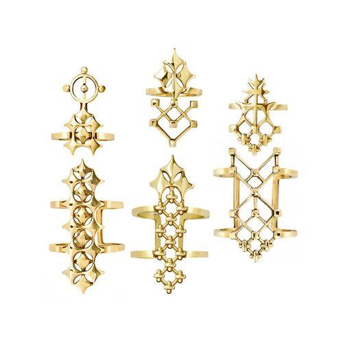 Nhistoriae-Geometrica-Rings-Ringlets-Gold-Set1