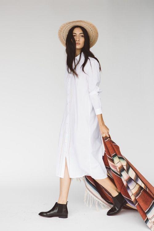 Le-Fashion-Blog-Jenni-Kayne-Resort-2016-Natural-Straw-Hat-White-Shirtdress-Black-Ankle-Boots-Via-Style-Com