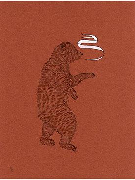Bearspeakonbrick